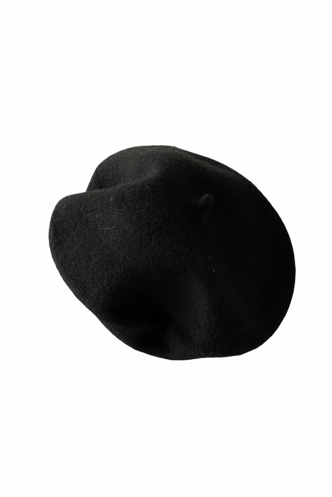 FRENCH BERET, BLACK