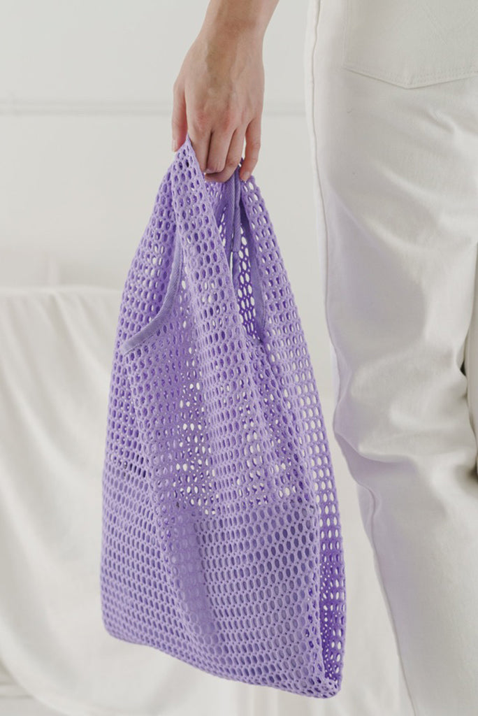Lilac Mesh Tote (Last One!)