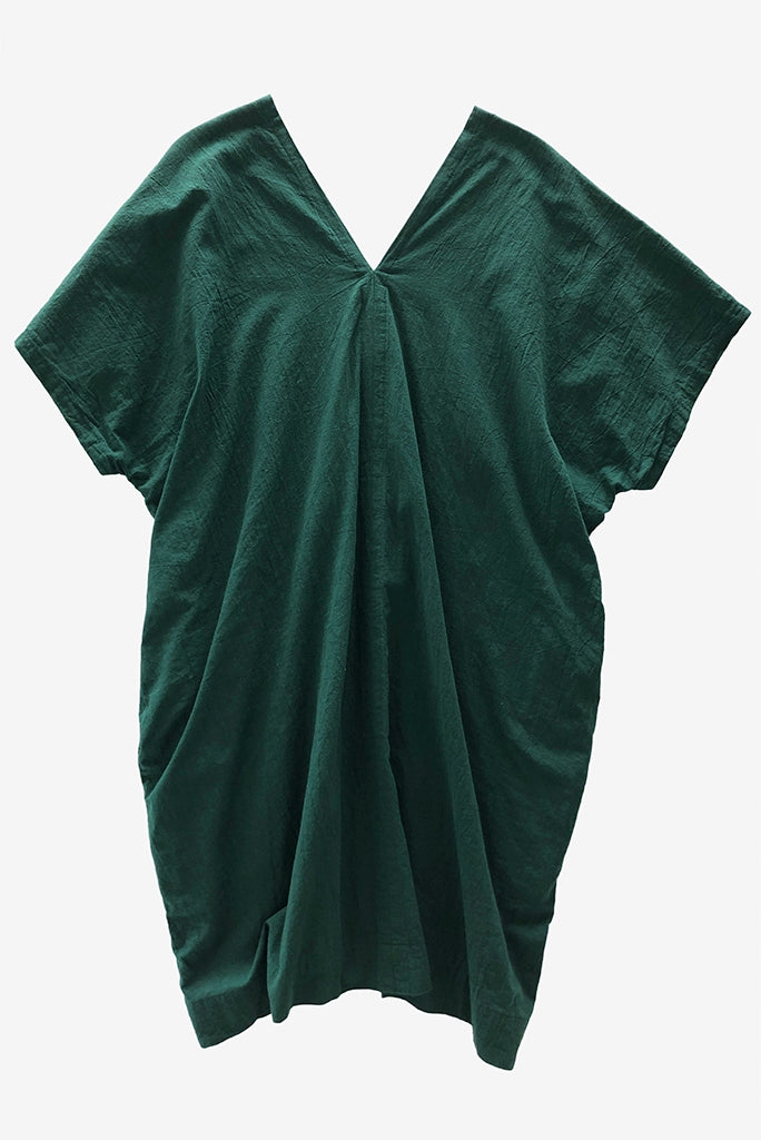 UZI V Dress, Green