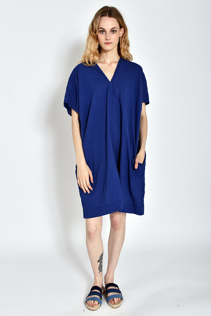 UZI V Dress, Blue