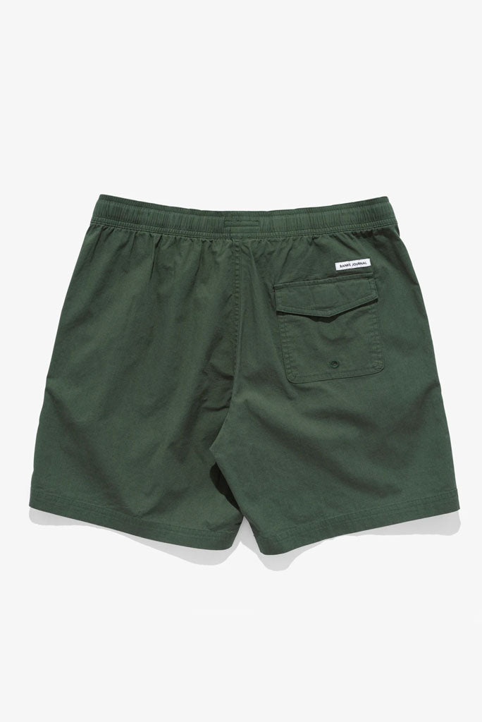 BANKS LABEL ELASTIC BOARDSHORT
