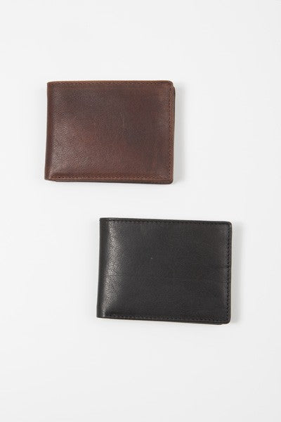 Cleat Billfold Wallet, 2 Colors