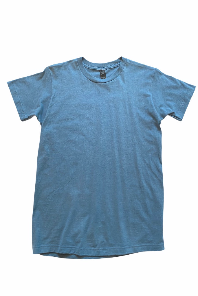Shop men's solid color t-shirts in 5 colors. 100% ring-spun USA cotton and reactive-dyed for longer lasting color.