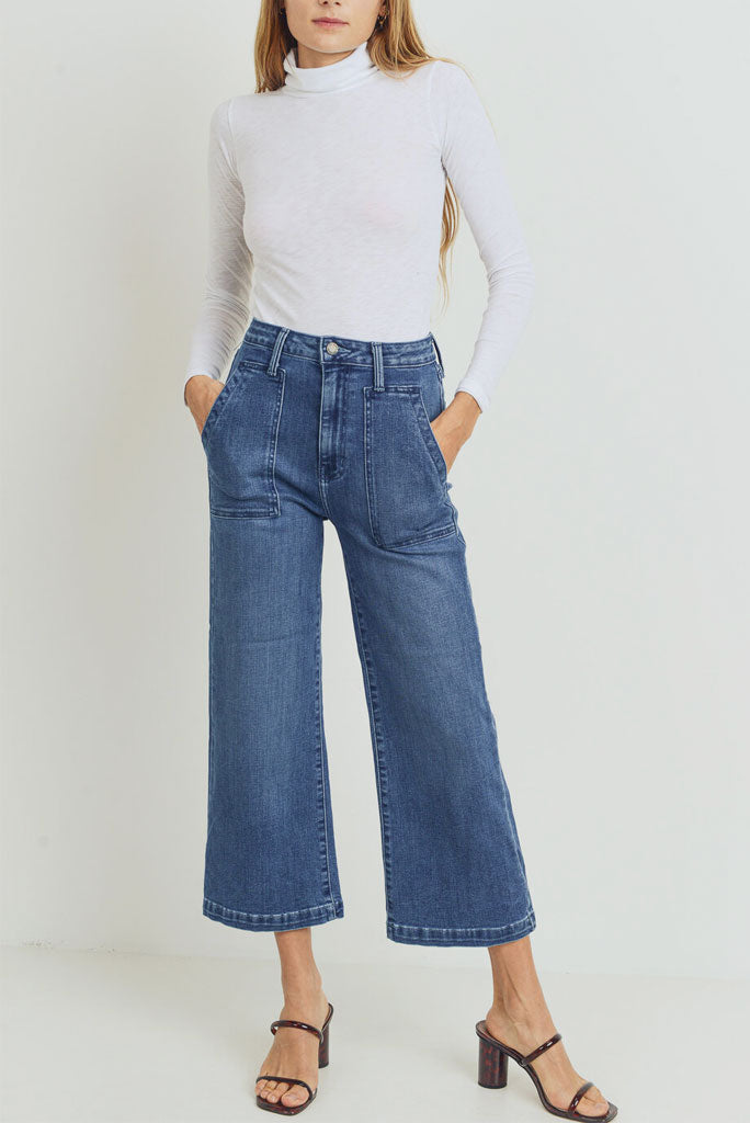 JBD Wide Leg Pocket Jeans