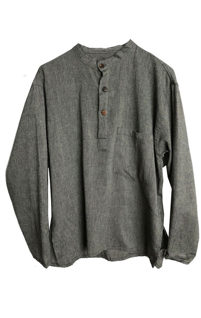 Kurta Shirt, Grey