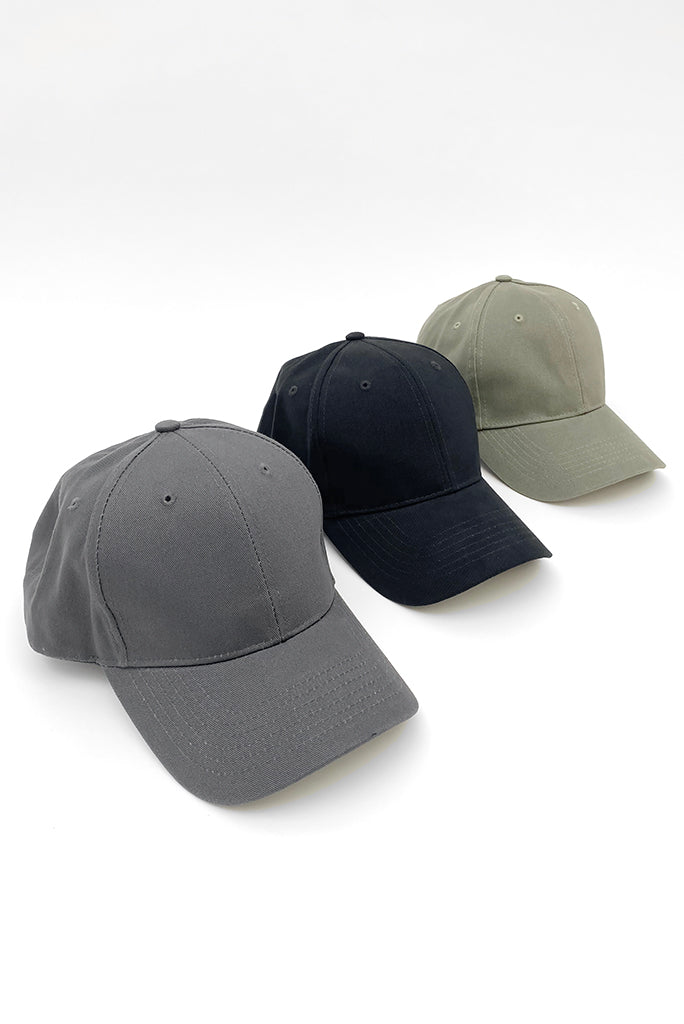 LOW PROFILE BASEBALL CAP