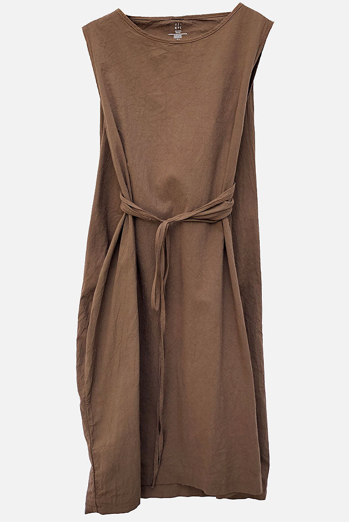 Oxford Dress - Brown