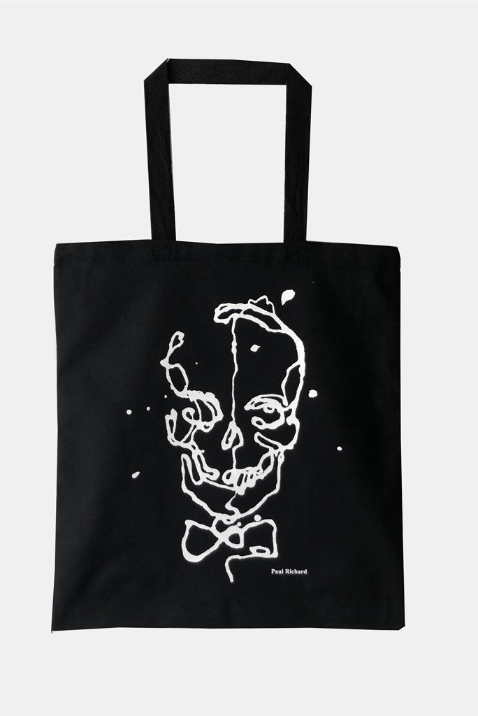 Paul Richard Skull Tote, Black