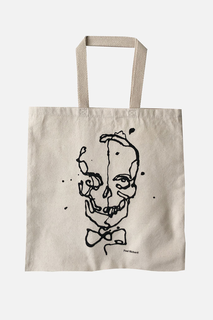 Paul Richard Skull Tote, Natural