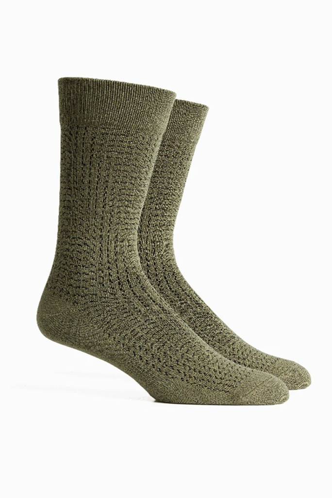 Dashing Sock, Green