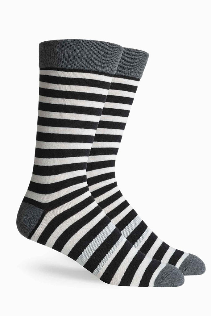 THEO SOCK BLACK STRIPE