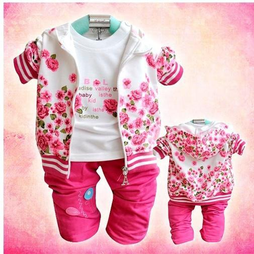 baby Peony Leisure Three sets