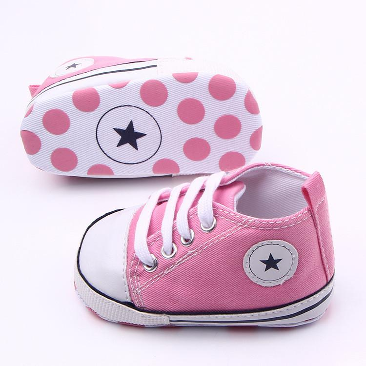 Baby Canvas Toddler Shoes