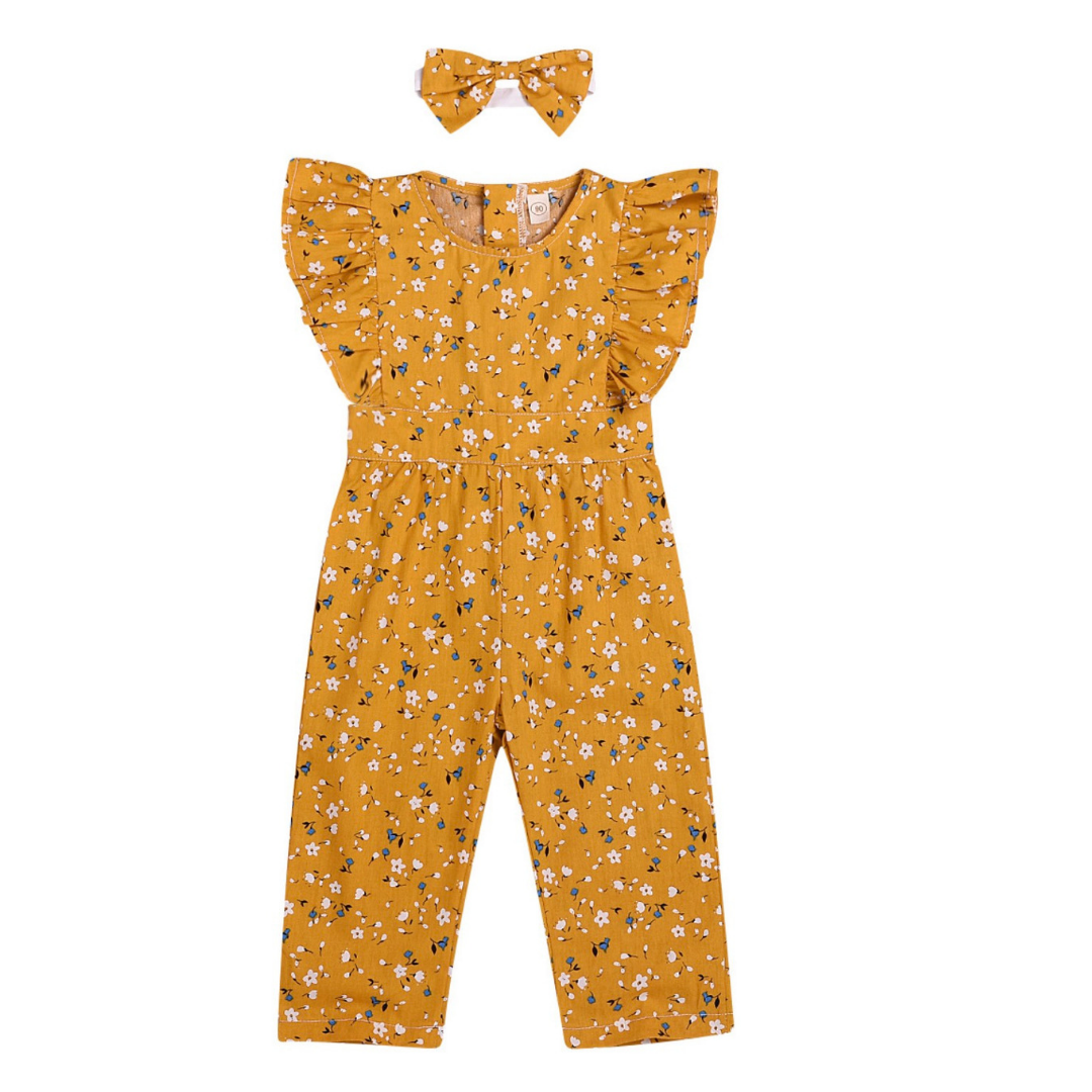 Baby/Toddler Girl Jumpsuit