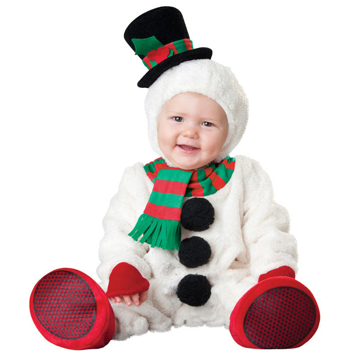 Costumes Baby's Silly Snowman Costume