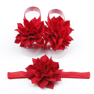 Baby Lotus Hairband Three Sets