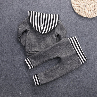 Baby's Gray stripes Two sets