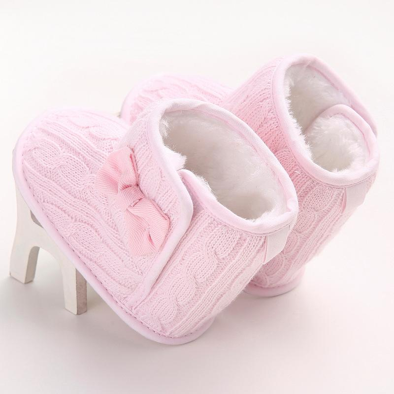 baby  Winter models Plus cashmere Toddler boots