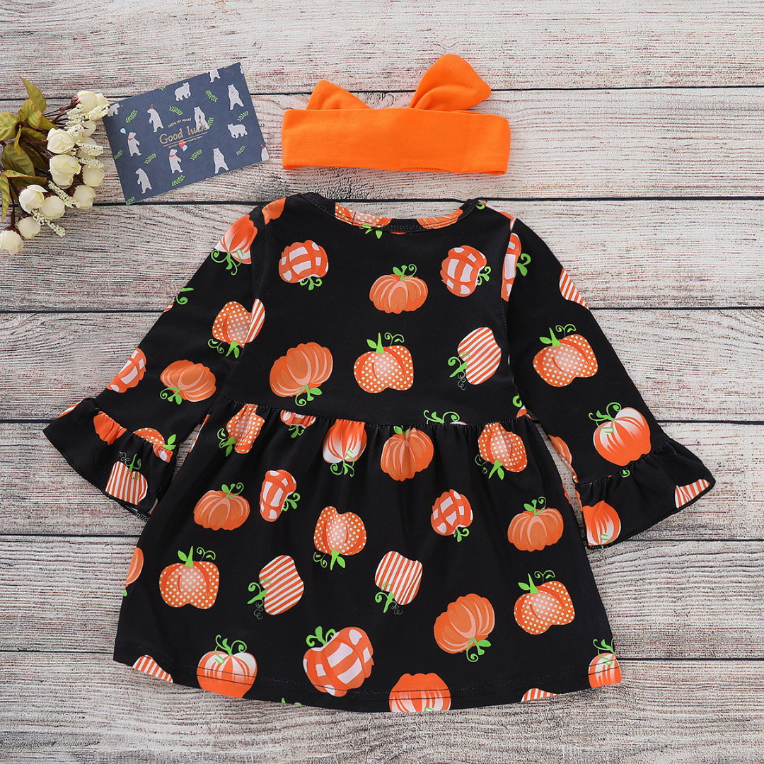 Baby / Toddler Halloween Long-sleeve Party Dress