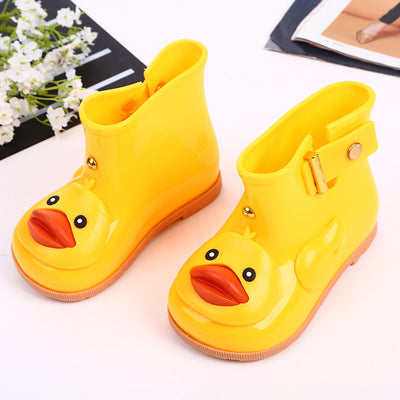 Yellow duck raincoat