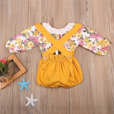 baby 's Floral Clothes