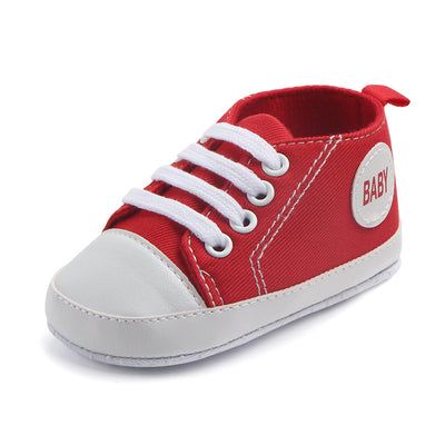 Baby canvas shoes