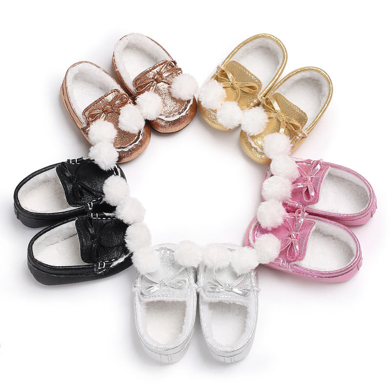 Baby winter warm toddler shoes