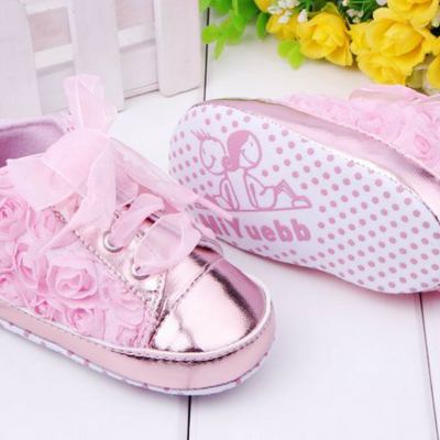 baby Roses Toddler shoes Non-slip