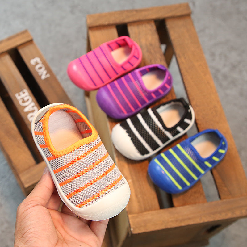 Baby breathable mesh shoes