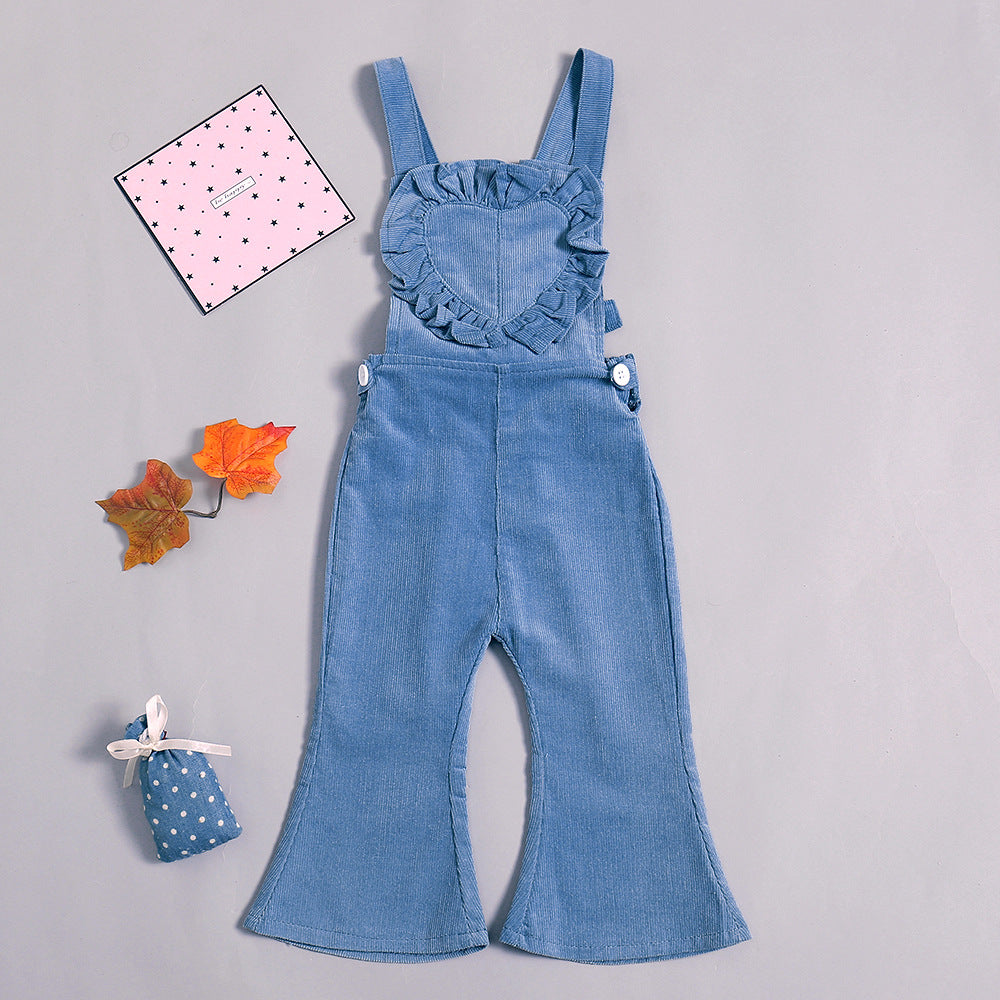 Baby&Toddler  overalls flared pants