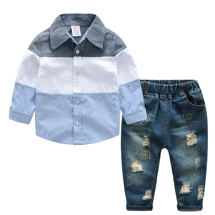 Baby shirt + jeans