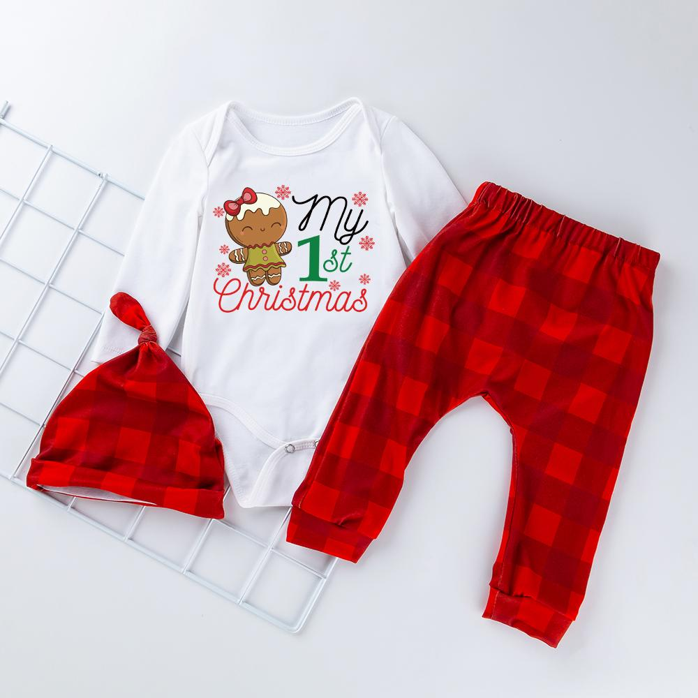 3-Piece My First Christmas outfit! Pre-Order