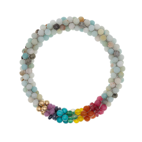 amazonite-rainbow-beaded-gemstone-bracelet