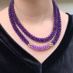 beaded-gemstone-necklace-doubled