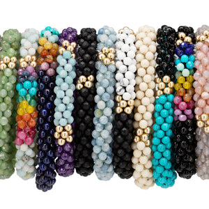 Load image into Gallery viewer, beaded-gemstone-bracelet-group