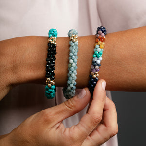 beaded-gemstone-bracelet-model