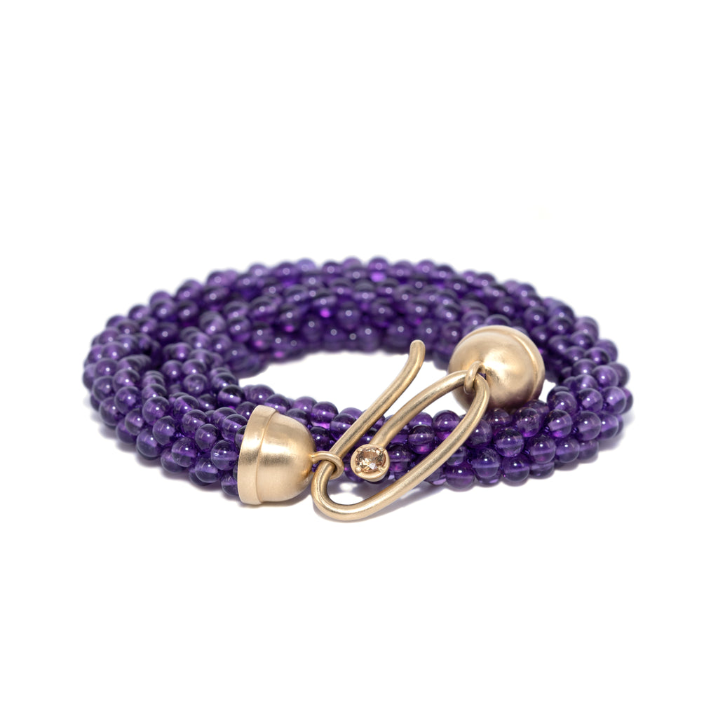amethyst-beaded-bracelet-with-14kgold-and-champagne-sapphire-clasp