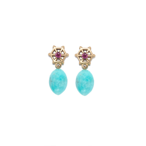 amazonite-drop-earrings-with-small-14kgold-and-pink-sapphire-post