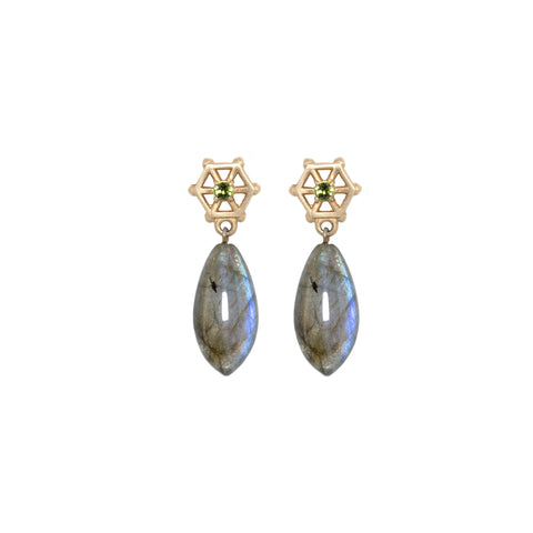 labradorite-drop-earrings-with-small-14kgold-and-green-tourmaline-post