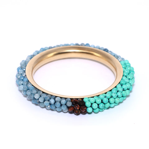 aquamarine-turquoise-and-14kgold-bangle-bracelet