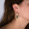 14kgold-small-spoked-hexagon-green-opal-earrings-on-model