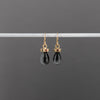 14kgold-flat-hexagon-gemstone-top-drop-earrings