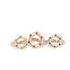 large-and-small-14kgold-hexagon-rings
