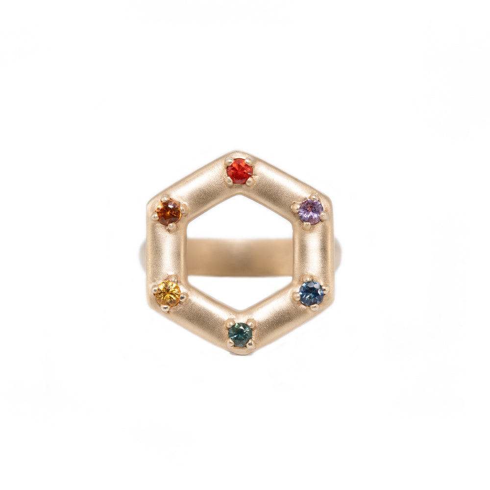 large-gold-open-hexagon-ring-rainbow