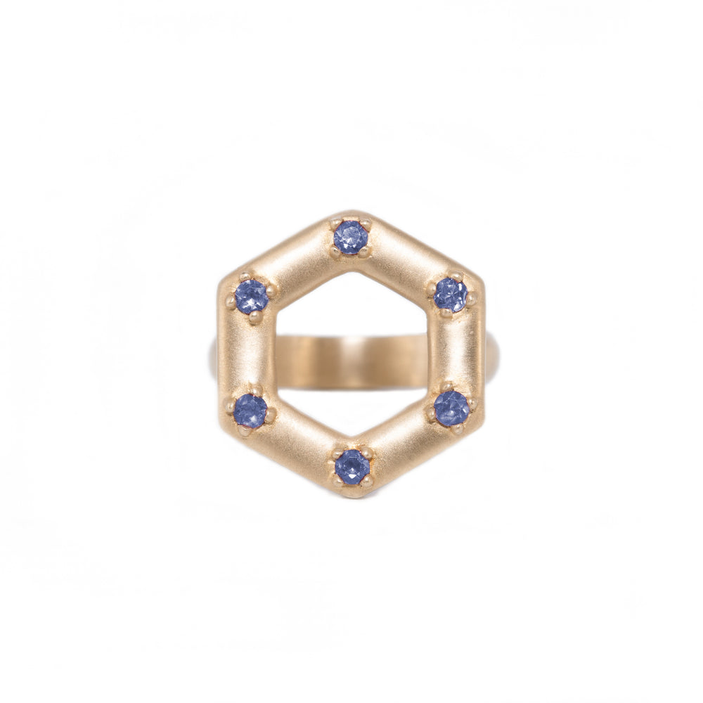 gold-large-open-hexagon-ring-sapphire