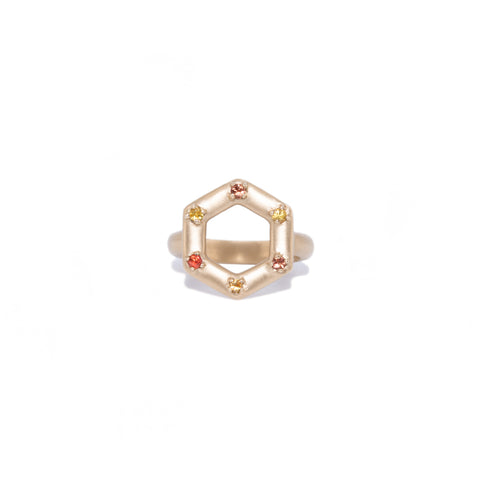 small-14kgold-hexagon-yellow-and-orange-sapphire-ring