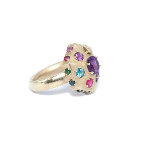 Dakota Ring: Amethyst