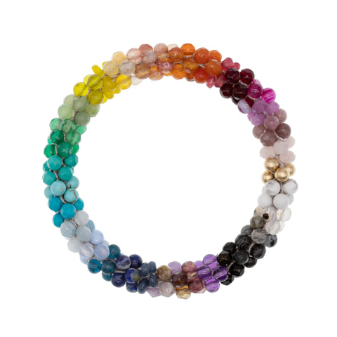 rainbow-beaded-gemstone-bracelet