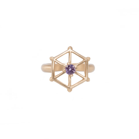 14kgold-spoked-hexagon-violet-sapphire-ring
