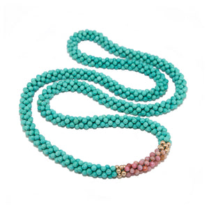 beaded-gemstone-necklace-turquoise